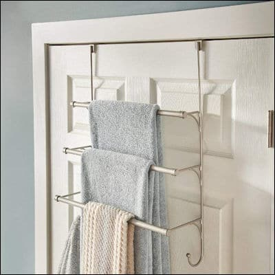Franklin Brass 193153-FN Over the Door Triple Towel Rack review