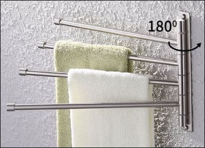 KES Swivel Towel Bar review