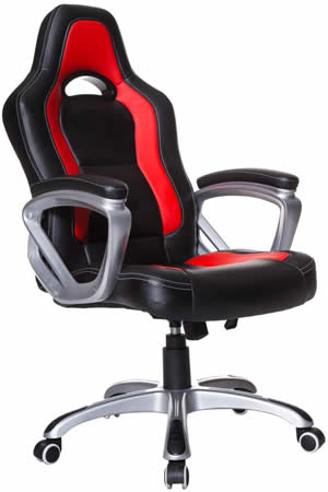 Cherry Tree Racing Sport Swivel Office Chair