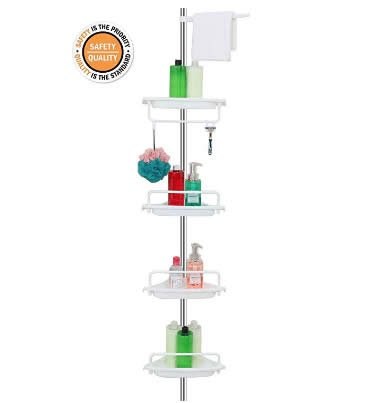 ALLZONE Constant Tension Corner Shower Caddy review