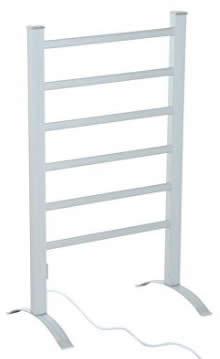HomCom 6-Bar Freestanding Lightweight Aluminum Electric Towel Warmer Drying Rack review