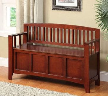 Linon Home Decor Cynthia Storage Bench review