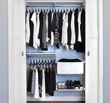 Organized Living freedomRail Premium Adjustable Closet Kit review