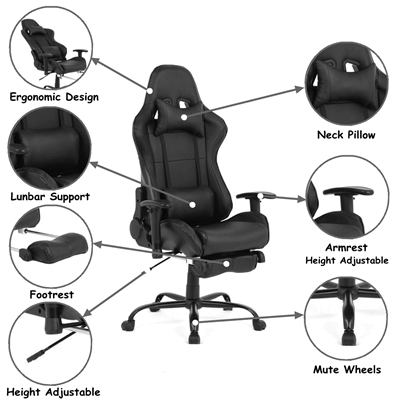 gaming chair features to consider